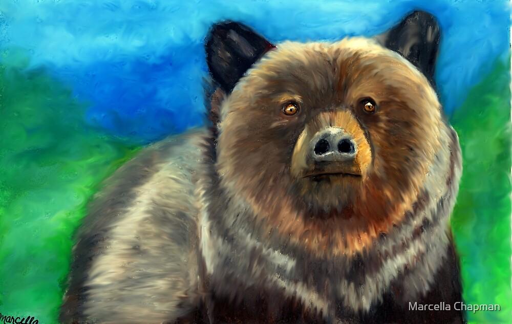 Chris' Spirit Bear by Marcella Chapman