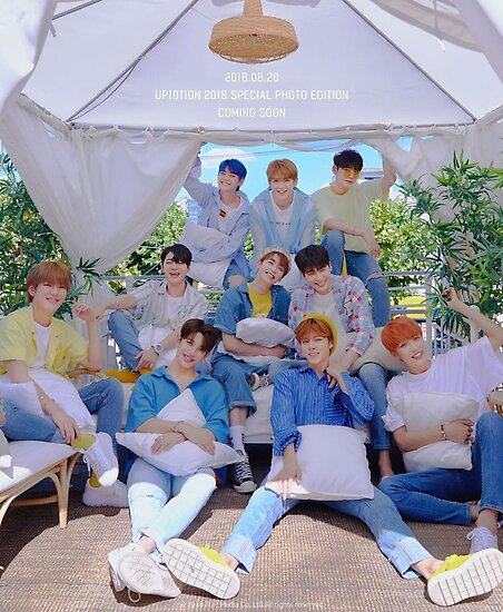 UP10TION (업텐션) '2018 Special Photo Edition' by dreamingxoxo