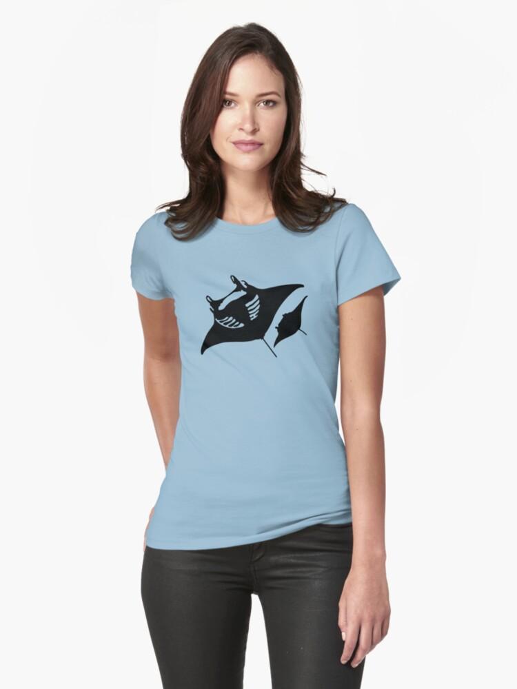 manta Womens T-Shirt Front