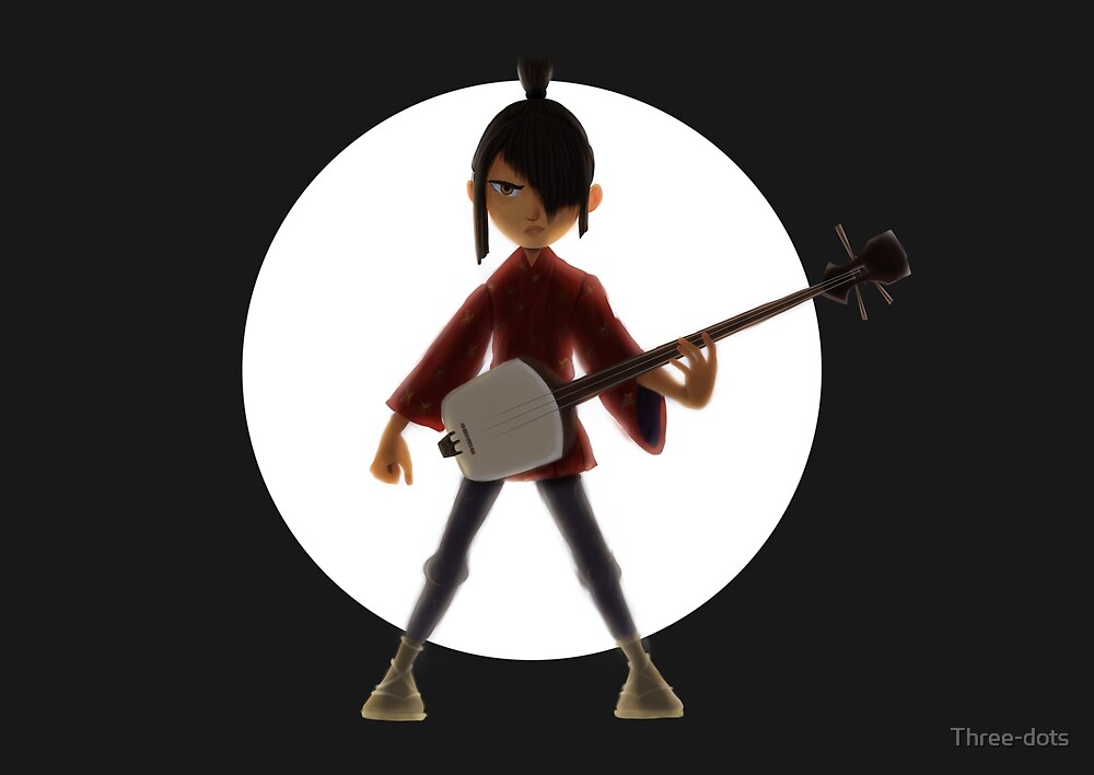 Kubo and the two strings by Three-dots