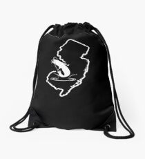 Freshwater Catfish New Jersey Catfish Tee Shirt Drawstring Bag