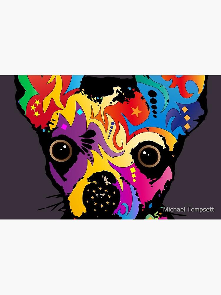 Chihuahua-Hund von ArtPrints