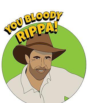 Bloody Rippa by charliegdesign