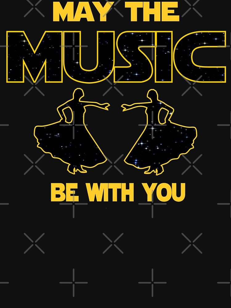 Flamenco T shirt - May The Music Be With You  by funnyguy