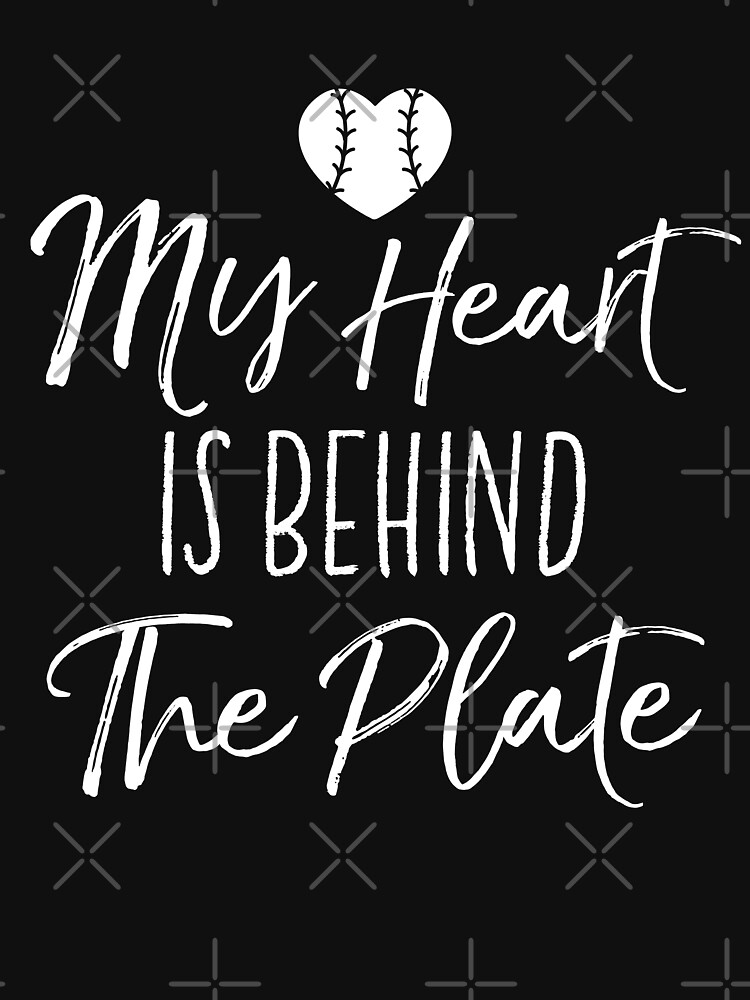 My Heart Is Behind The Plate by EcoKeeps