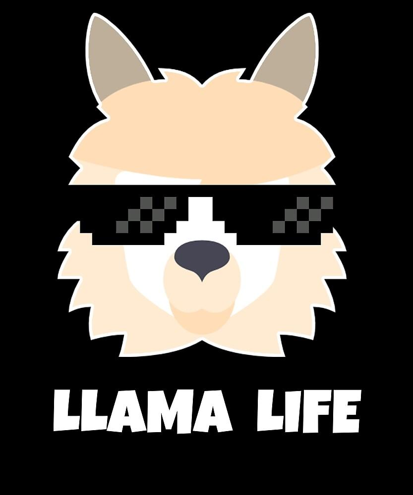 Lama Life by kannway