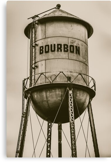 Vintage Bourbon Sepia Wall Art by Gregory Ballos