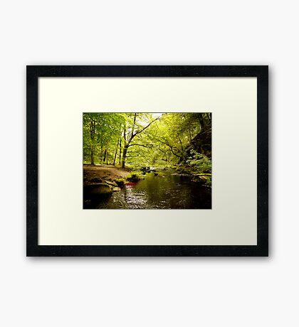 Hebden Water Framed Print
