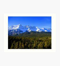 Rocky Mountain Way Art Print