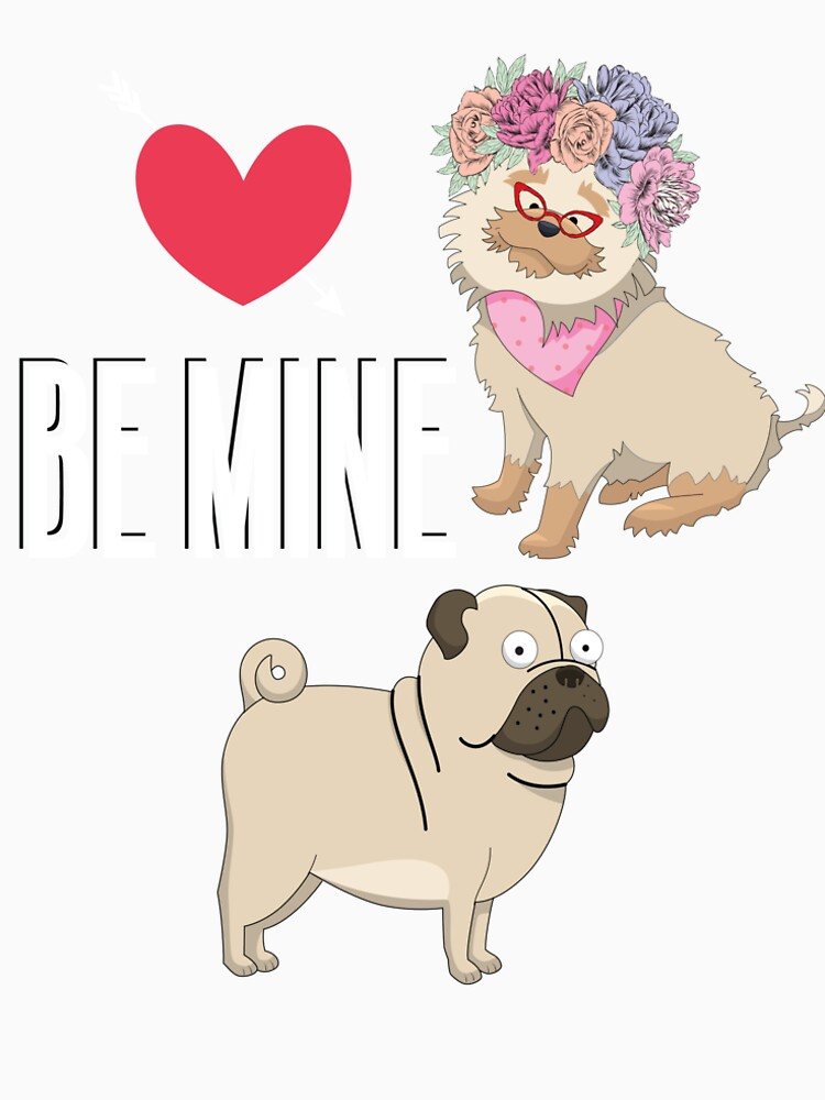 Yorkshire Terrier granny asking a pug to marriage  by MOUSATNI