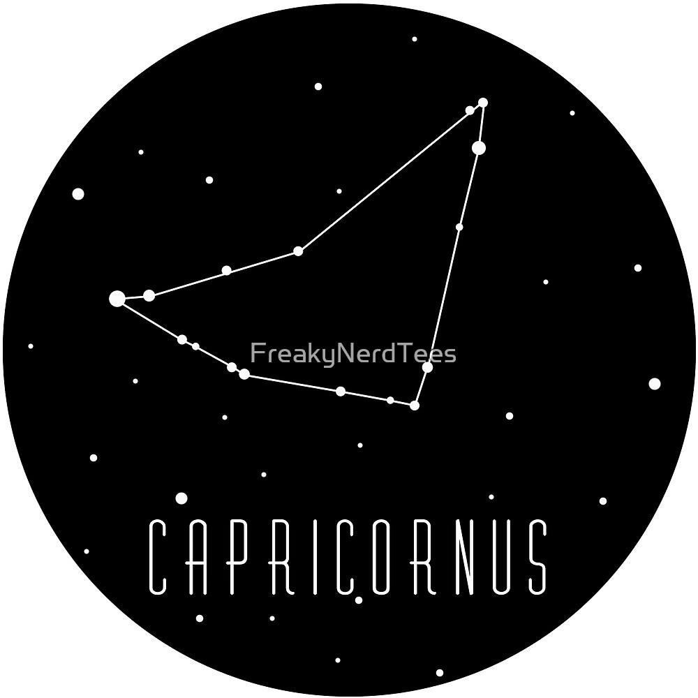 Capricorn Capricornus Constellation by FreakyNerdTees
