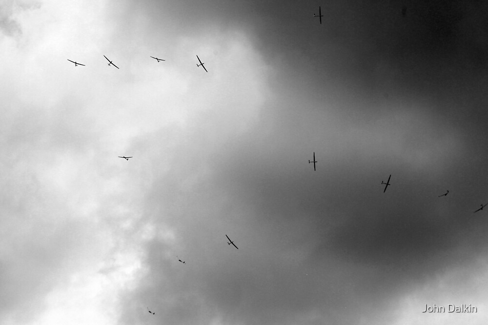 Flock of Gliders by John Dalkin