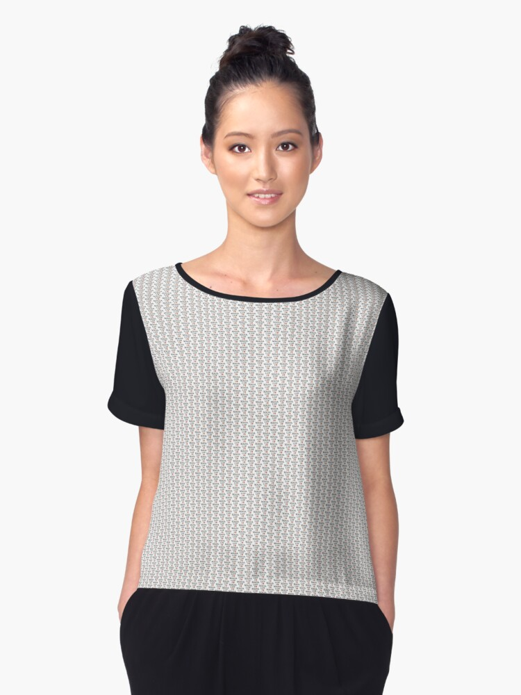 I Love MAGA LUF - That's the place in Mallorca Women's Chiffon Top Front
