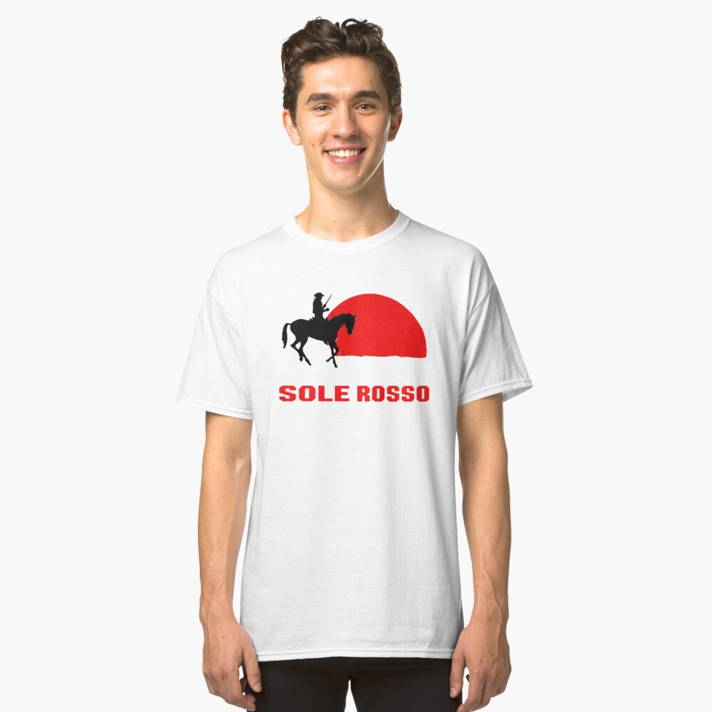 Sole Rosso Soleil Rouge Movie Classic T-Shirt Front