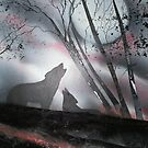 Wolf Mates by linmarie