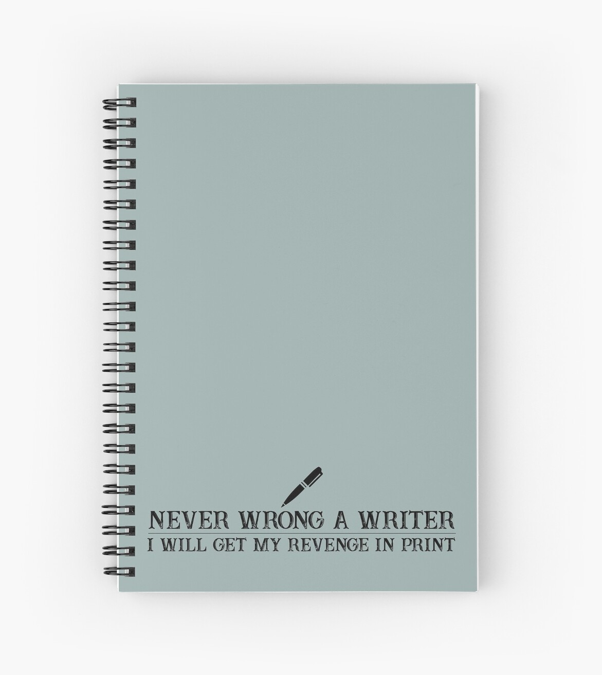 Never Wrong a Writer Funny Journalist Quote by CreativeTwins