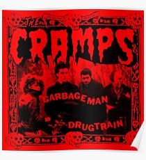 THE CRAMPS ! Poster