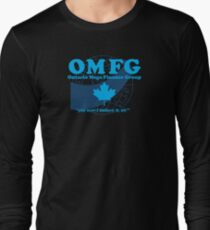 OMFG: Ontario Mega Finance Group Long Sleeve T-Shirt
