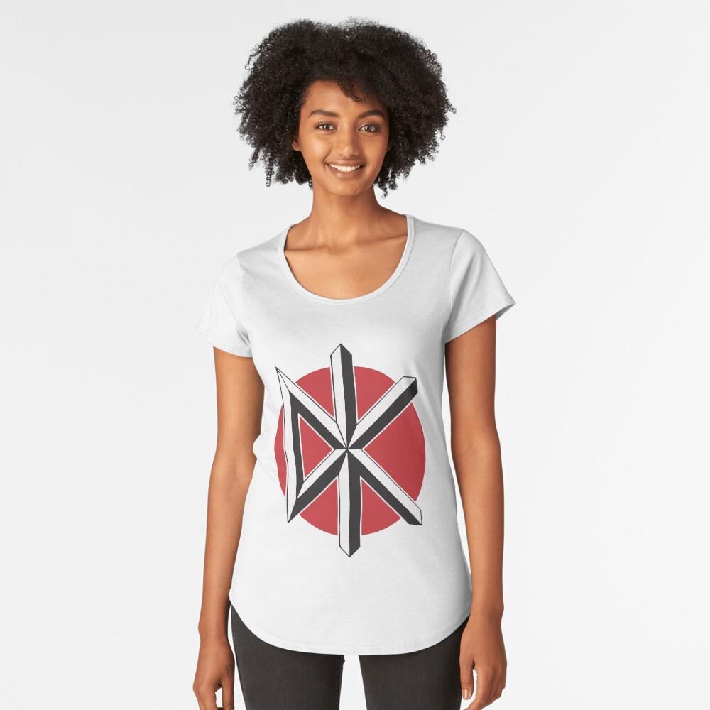DeadKennedys weiß Premium Rundhals-Shirt