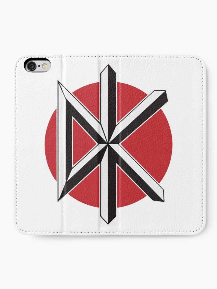 Alternative Ansicht von DeadKennedys weiß iPhone Flip-Case