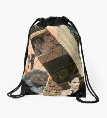 pier paolo pasolini Drawstring Bag
