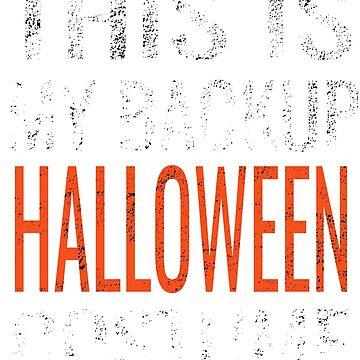 Backup Halloween Costume  by NeonArcade87