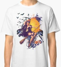 The Kitsch Bitsch : Halloween Kitsch Witsch Pin-Up Classic T-Shirt