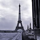 Eifel Tower, Winter 1945 by Jim Haley