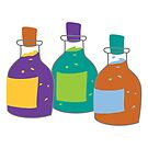 Bubbling Potions by 13sparrows