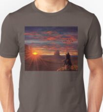 Cowboy of the west Unisex T-Shirt