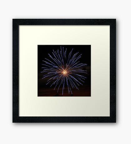 Fireworks #4 Framed Print