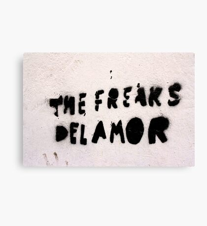 The Freaks of Love Canvas Print