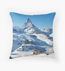Gornergrat Throw Pillow