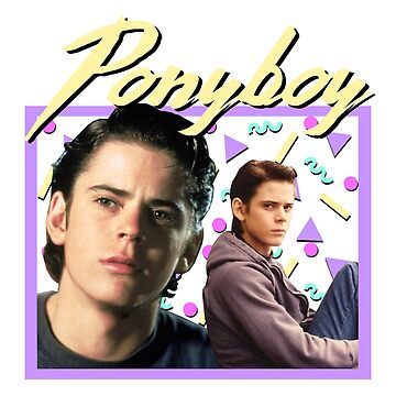 80s Ponyboy Curtis The Outsiders by ellentwd