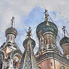 Basilica in Moscow by mrthink