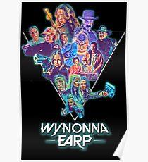 Wynonna Earp 80's Theme Collage Poster
