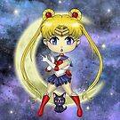 Chibi Sailor Moon by rbrogdenart
