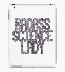 Badass Science Lady iPad Case/Skin