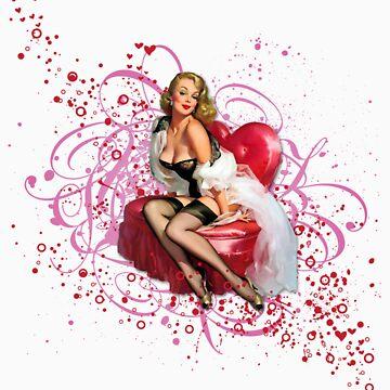 The Kitsch Bitsch : Pretty in Pink Pin-Up by TheKitschBitsch