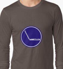 LAPTOP PARKING ROAD SIGN Long Sleeve T-Shirt