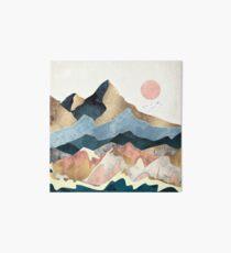 Golden Peaks Art Board