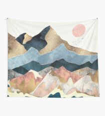 Golden Peaks Wall Tapestry