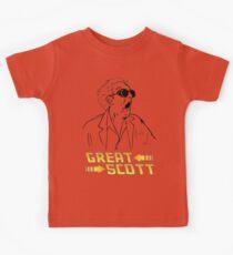 BTTF Great Scott Kids Tee