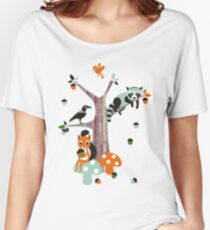 Friends of the forest Women's Relaxed Fit T-Shirt