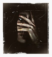 Schizophrenic Psycho    Photographic Print