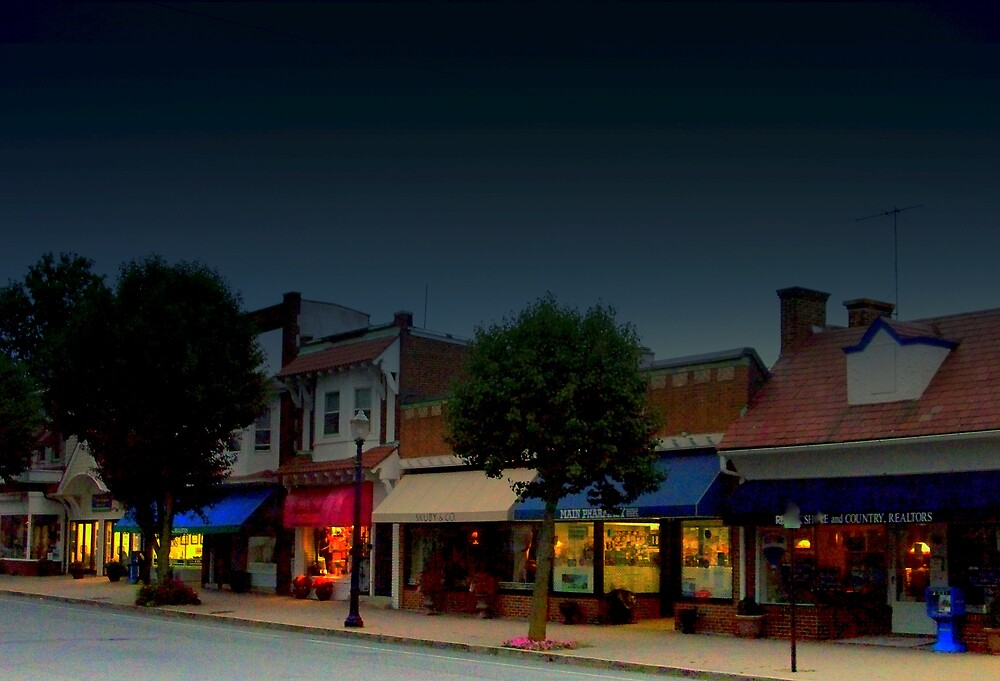 Spring Lake Main Street  by fiat777