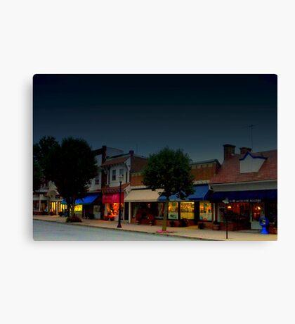 Spring Lake Main Street  Canvas Print