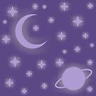 Cosmos print by Pendientera