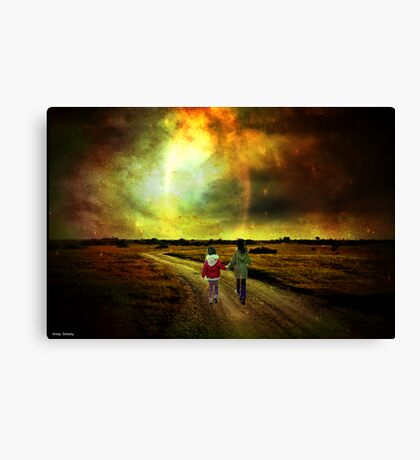 come on Canvas Print