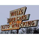 Well's Used Cars & Auto Wrecking by MPitzer